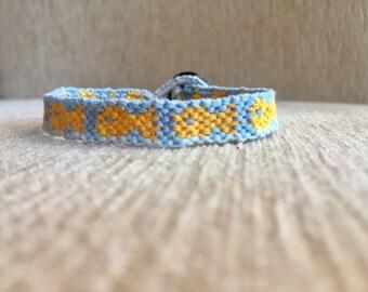 Goldfish friendship bracelet