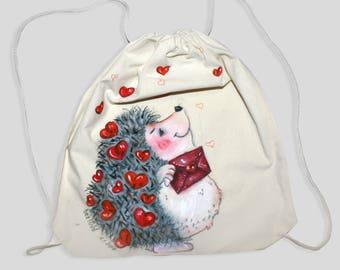 Drawstring backpack, Drawstring bag, Drawstring bag canvas, Canvas bag, Canvas back, pack, Cotton bag, Cotton backpack, Vegan backpack, Bag