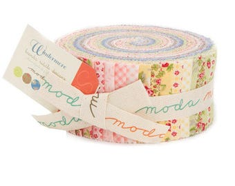 Windermere Jelly Roll by Brenda Riddle Designs for Moda Fabrics - Brenda Riddle Jelly Roll - Windermere Jelly Roll - Moda Fabrics Jelly Roll