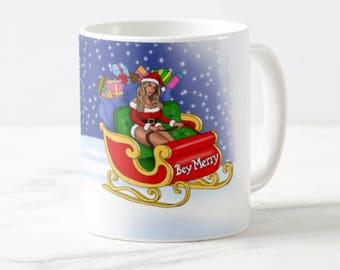 """Central 23 Beyonce Christmas Mug """"Bey Merry"""""""