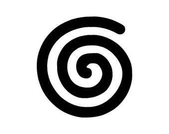 Spiritual Spiral Symbol - Vinyl Decal