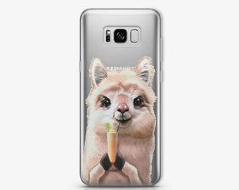 Llama Samsung S8 Case iPhone 6 Case Samsung S7 Cute Case Samsung S8 Plus Animals Case iPhone Case Samsung Note 5 Case iPhone X Case AC1408
