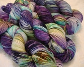 READY TO SHIP New bases added. Hand Dyed Yarn, Kettle Dye, Color - Illusion**#