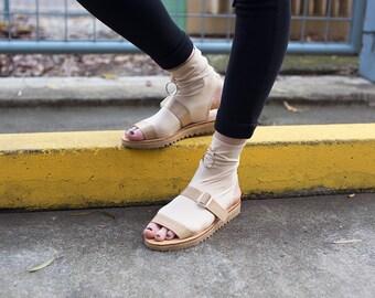 Tech Sock Sandal - Sand