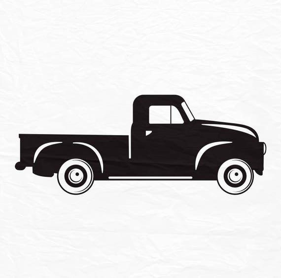 Truck SVG Vintage Truck svg files Christmas truck svg Truck