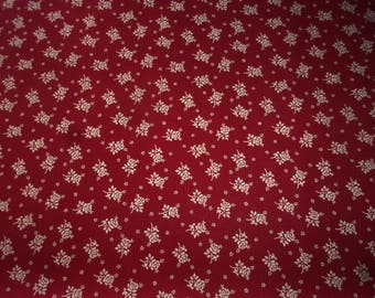FABRIC antique or vintage, small roses