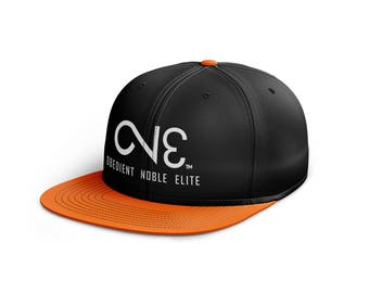 O.N.E. Black Orange Snapback