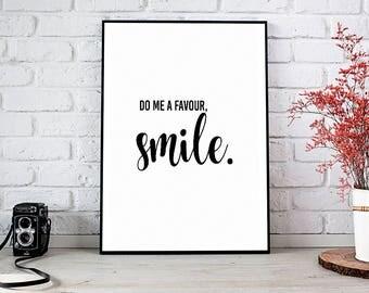 Smile, Motivational,Decor,Wall Decor,Trending,Art Prints,Instant Download,Printable Art,Wall Art Prints,Digital Prints,Best Selling Items