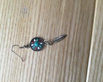 Dreamcatcher earrings