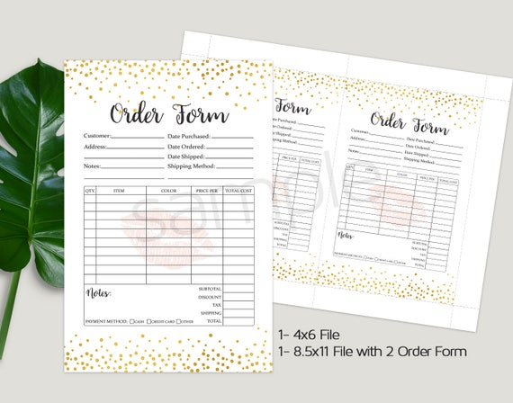 Dumpling Receipt Pdf Lipsense Order Form Invoice Sheet Customer Order Form Blank Invoice Doc Word with How To Make A Tax Invoice Word Lipsense Order Form Invoice Sheet Customer Order Form Invoice Form Gold  Confetti Letter Size A Size X X Instant Download Generic Receipts Word