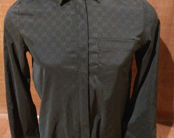Vintage Gucci Shirts Gucci Zipper Shirts Made in Italy