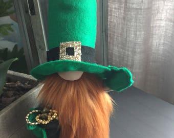 Handmade St. Patrick's Day Gnome