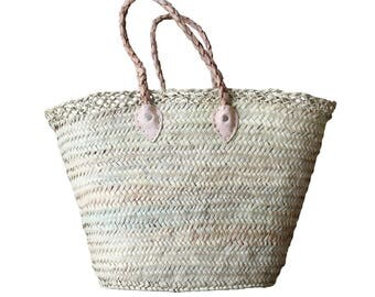 Basket bag with lining to seal