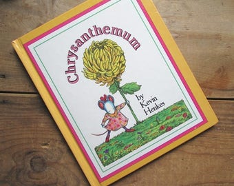 Children's Book Chrysanthemum by Kevin Henkes First Edition 1991