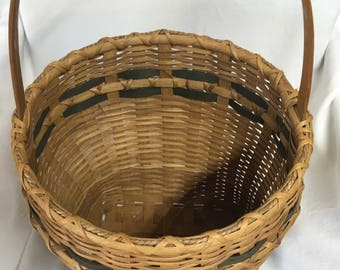 Large Sweetgrass Basket Handwoven