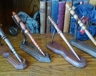 Wand Stands for your Harry Potter Style Wands