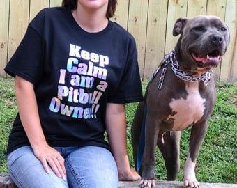 Keep Calm Shirts - Dog Mom Gift - Dog Mom Shirt - Dog Shirt - Dog Mom Shirt - Pitbull Shirt - Daschund Shirt - French Bulldog Clothing