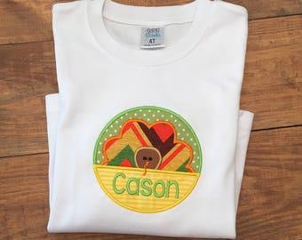 Boys Thanksgiving shirt, boys turkey shirt, boys thanksgiving turkey shirt, boys thanksgiving turkey name shirt, boys name shirt