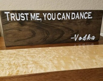 Reclaimed Wood Signs - Alcohol