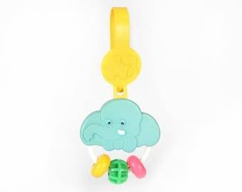Vintage Baby Toys-Elephant Boxhanger-Fisher Price, No. 619
