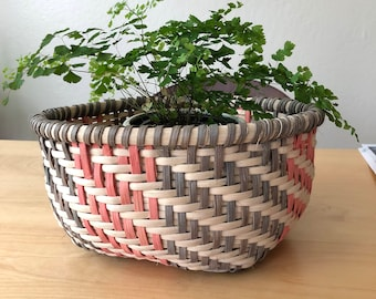 Beautiful vintage weave basket