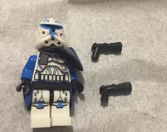 Building block Star Wars clone wars captain rex with accessories and fabric waistcape