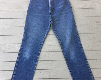Vintage 80s Chic jeans/ highwaisted jeans small petite/short