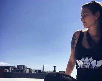 Womens Black Lotus Tank