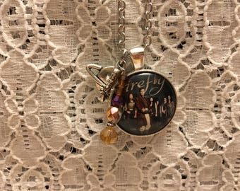 Firefly TV Show Charm Necklace/Firefly TV Show Jewelry/Firefly Fan/Firefly Fandom Jewelry