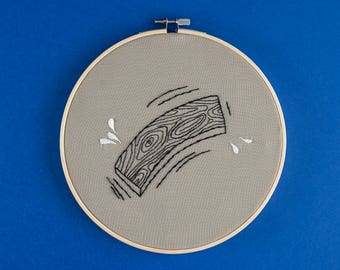 Embroidery wood I