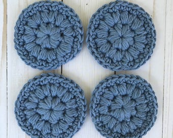 Face rounds / Reusable face pads / Face scrubbies / Cotton face pads / Face pads / Crochet face rounds / Face scrubby / Eco friendly