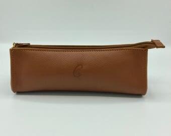 Drop Tan Leather case