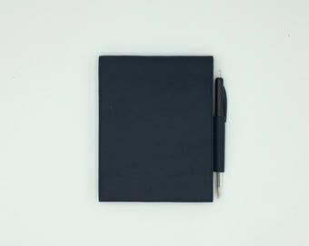 Navy Blue notebook