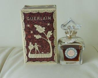 """Vintage Guerlain L'heure Bleue Baccarat Crystal Sealed Bottle in Original Box 4"""""""