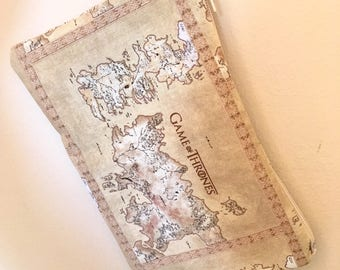 Game of Thrones Map Wristlet