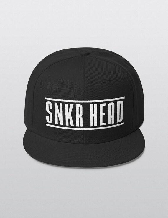 SNKR HEAD | Wool Blend Snapback Cap