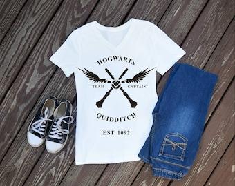 Hogwarts Quidditch Womens T-Shirt, Harry Potter