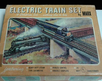 Vintage Marx Electric Train Set-Model 4040
