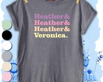 Heathers Full Colour Unisex Men's T-shirt Top Tee Present Gift Premium Quality Fashion