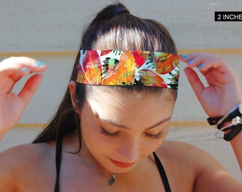 Custom Headband, Yoga Headband, Fitness Headband, Running Headband, Indie Headband, BOHO Headband, Girls Headband, Printed Headband