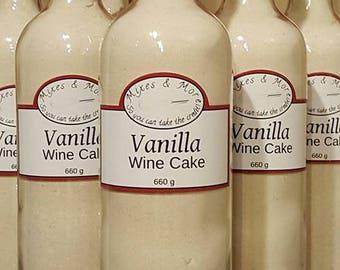 Wine Cake Bottle
