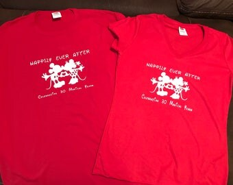 Disney Personalized Anniversary T-Shirt