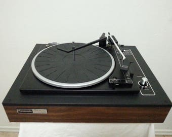 Rare Vintage Panasonic SL-701 CD4 Fully Automatic Turntable/As is