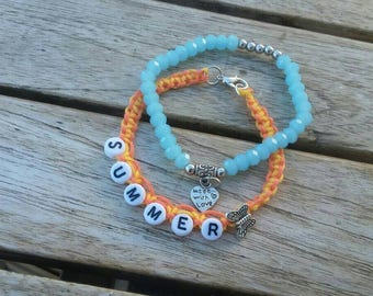Charming bracelet summer