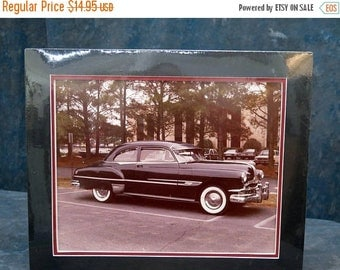 1952 Pontiac 11x14 Matted Photograph for 14.5 x 17.5 frame