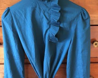 Vintage blouse size S-M 80's 70's