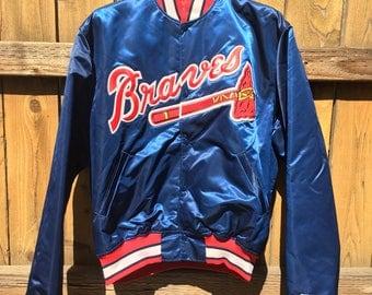 Vintage MLB Stater Jacket Atlanta Braves