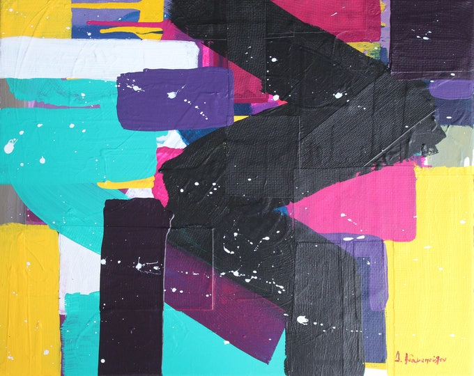 Ready for a change? 50x40cm Original Abstract Painting
