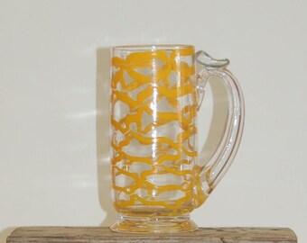 Handblown Glass Academy Mug