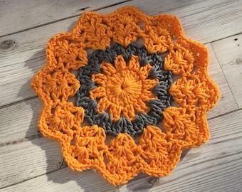 Crochet Mandala, Crochet Doily, Crochet Table Piece, Table Decor, Centre Piece, Unique